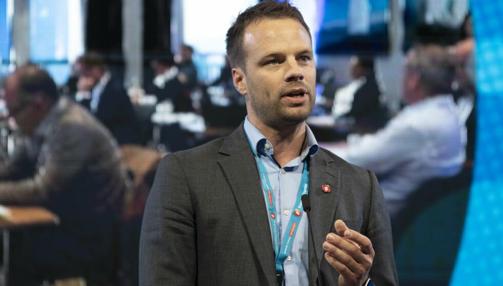 LOVFORSLAG: Jon Engen-Helgheim, stortingsrepresentant og Innvandringspolitisk talsperson for Fremskrittspartiet. Foto: Berit Roald / NTB