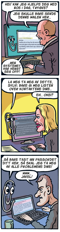 Politikernes hemmelige e-poster