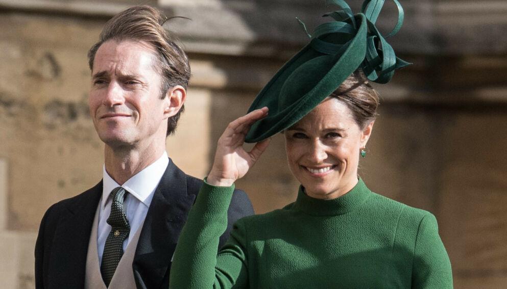 TOBARNSFORELDRE: Pippa Middleton og James Matthews skal ha fått sitt andre barn. Foto: James Gourley/REX/NTB