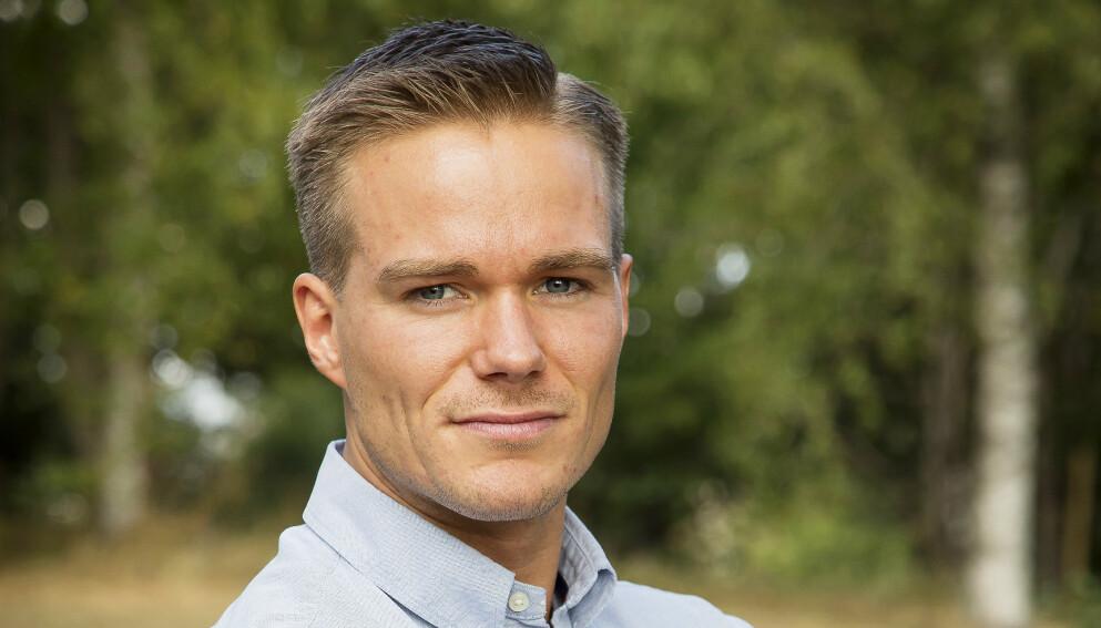 BLE PAPPA: Paal Nygård nyter livet som småbarnsfar. Foto: Tore Skaar/Se og Hør