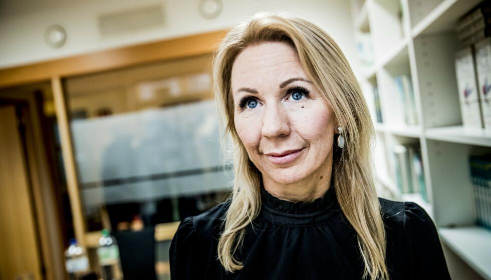 I RETTEN: Anne Brith Davidsens selskaper var tirsdag gjenstand i retten tirsdag. Foto: Christian Roth Christensen / Dagbladet