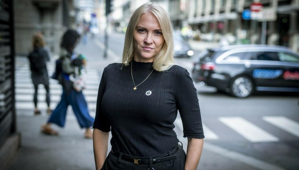 NSF-LEDER: Lill Sverresdatter Larsen, leder av Norsk Sykepleierforbund. Foto: Bjørn Langsem / Dagbladet