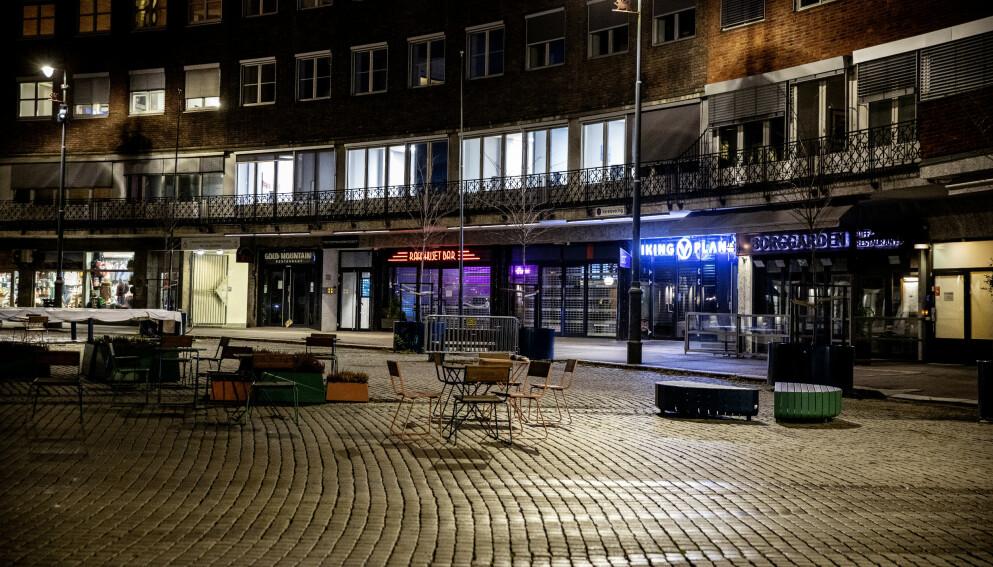 BA OM PORTFORBUD: Athithan Kumarasamy ønsker et portforbud i Oslo. Det er ikke kollegaen enig i. Foto: Nina Hansen / Dagbladet