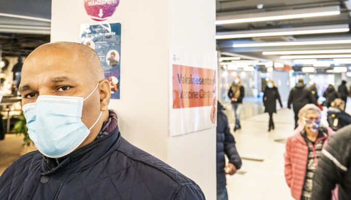 STOVNER: Rashid Nawaz er leder for Stovner bydelsutvalg. Foto. Hans Arne Vedlog / Dagbladet