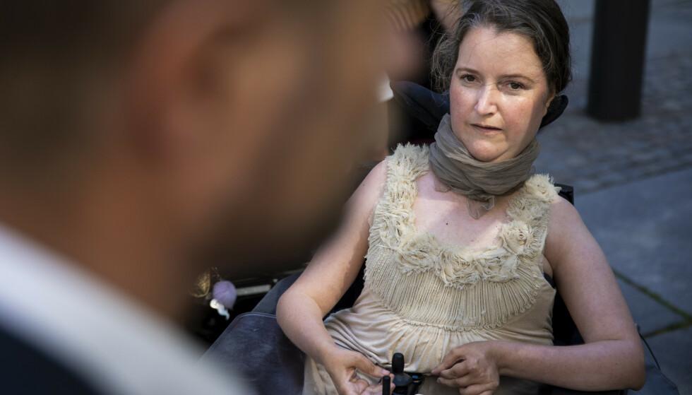 MISFORNØYD: Mari Storstein er skuffet over at Stortinget nedstemte innlemmelse av FN-konvensjonen om funksjonshemmedes menenskerettigheter i norsk lov. Foto: Tore Meek / NTB