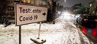 Ny smitterekord i Norge