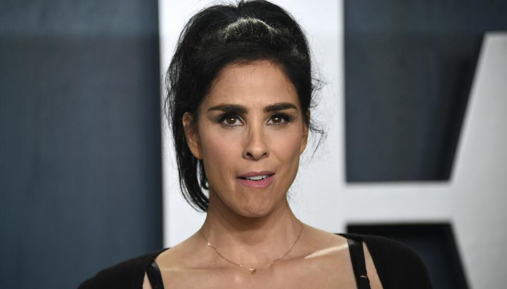 FIKK FYKEN: Komiker og skuespiller Sarah Silverman hevder hun fikk sparken på grunn av en ivrig tunge. Foto: Evan Agostini / Invision / AP / NTB