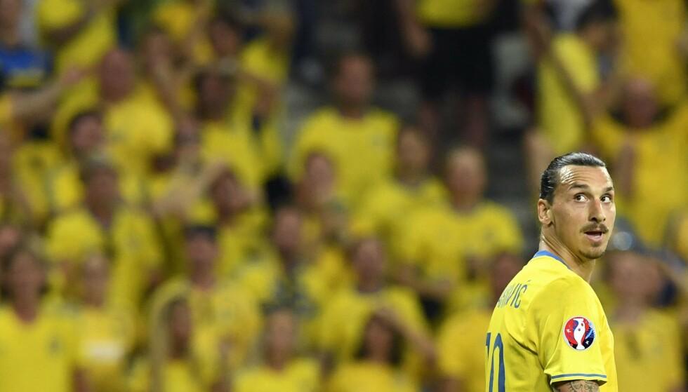 COMEBACK: Zlatan Ibrahimovic er tilbake på det svenske landslaget etter fem år. Foto: Jonathan Nackstrand / AFP / NTB