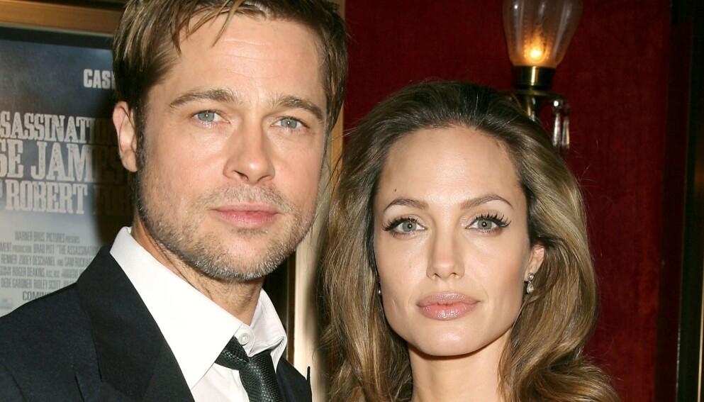 STERKE ANKLAGER: Angelina Jolie og Brad Pitts skilsmissestrid fortsetter. Nå anklager nemlig Jolie eksmannen for vold igjen. Foto: Dave Allocca / Starpix / REX / NTB