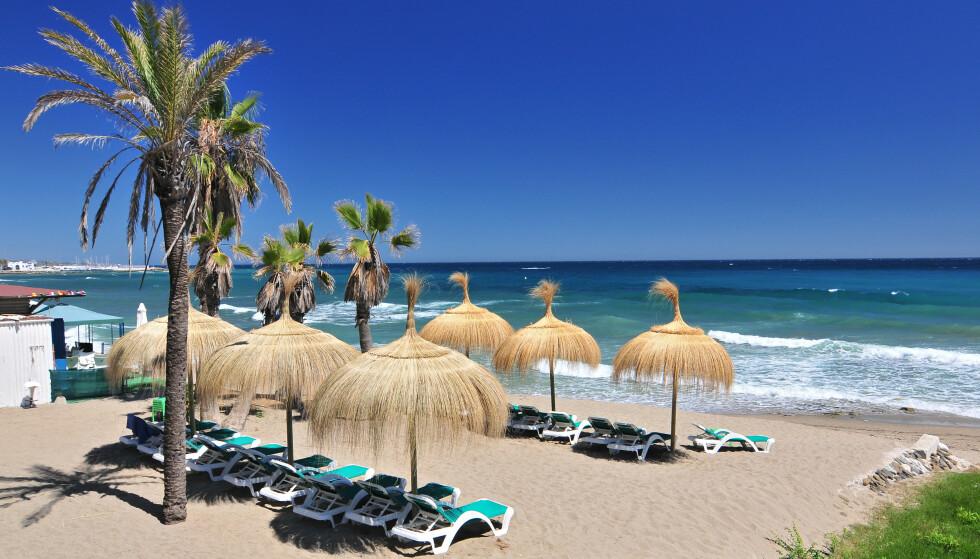 MARBELLA: Spania er et av de mest populære feriedestinasjonene blant nordmenn. Foto: Cezary Wojtkowski / Shutterstock / NTB
