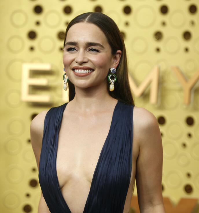 KASTET PÅ DØR: Emilia Clarke viste hudpleieren døra da hun ble oppfordret til å ta injeksjoner. Foto: Mario Anzuoni / Reuters