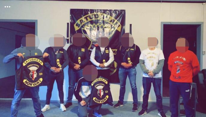 SOME: Klubben er aktiv på sosiale medier. De opererer med både åpne og lukkede kanaler. Foto: Politiet.