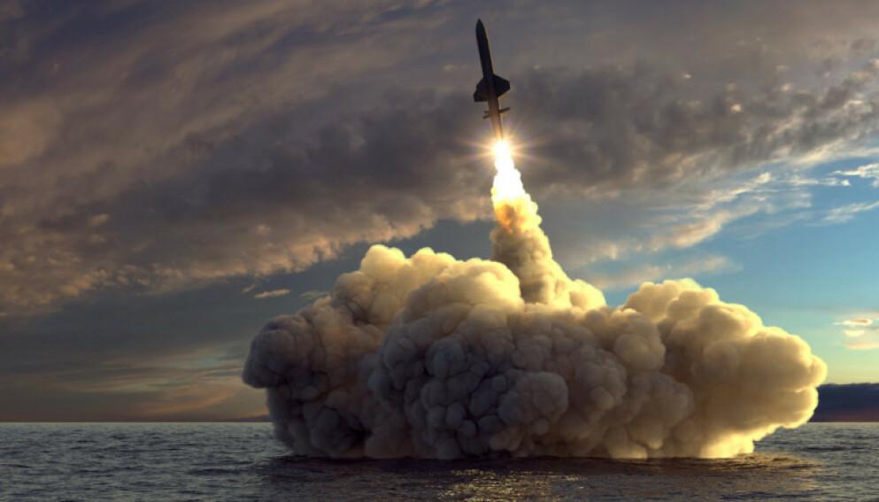 HELOMVENDING: Storbritannia øker sine atomvåpen med 45, istedet for, som planlagt, å senke med 35. Vil vi la våre allierte bryte med Ikkespredningsavtalen, eller tar vi tydelig avstand fra atomvåpen og slutter oss til FNs forbud, spør innsenderen. Foto: Shutterstock/NTB
