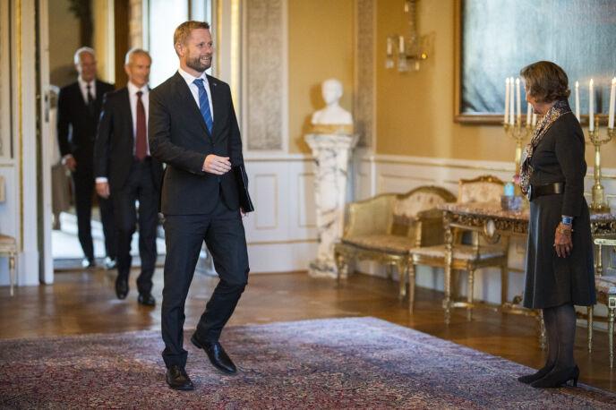 NEKTER: Helse- og omsorgsdepartementet nekter å gi Dagbladet innsyn i SMS'er om vaksinetilbudet til medlemmer av kongehuset. Foto: Jill Yngland / NTB