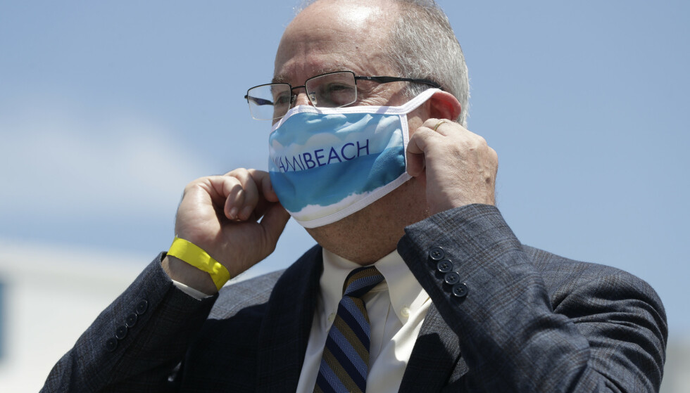 Attached: Miami Beach Mayor Dan Kelper has introduced stricter rules.  Photo: AP Photo / Wilfred Lee