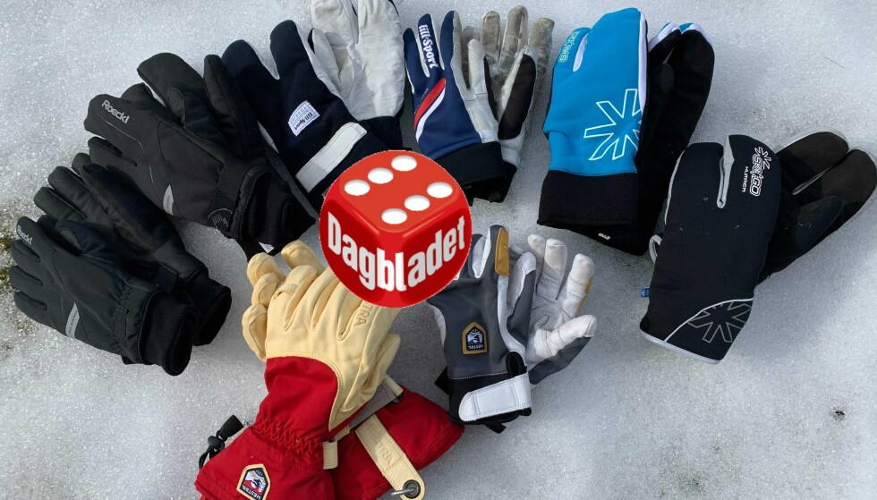 HANDS ON: Her er de åtte skihanskeparene vi har testet de siste ukene. Les testen for å finne ut hvilke du bør ta med deg på påskeferie. Foto: Eilin Lindvoll