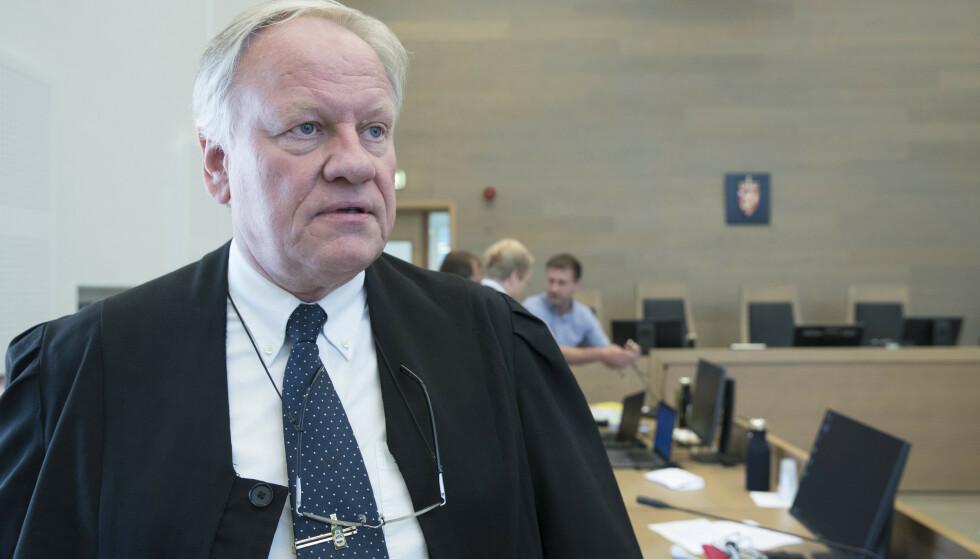 TAR OVER: Sigurd Klomsæt tar over som Jensens forsvarer. Foto: Terje Pedersen / NTB