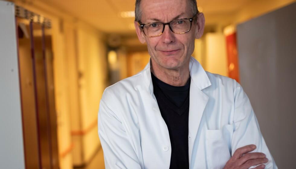Professor Jøran Hjelmesæth. Foto: Russell A. Jacobsen