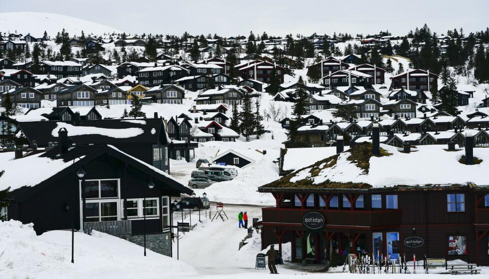 TRYSIL: Trysil er Norges største skianlegg. Her ligger både hytter, andre overnattingssteder og restauranter. Foto: Lise Åserud / NTB