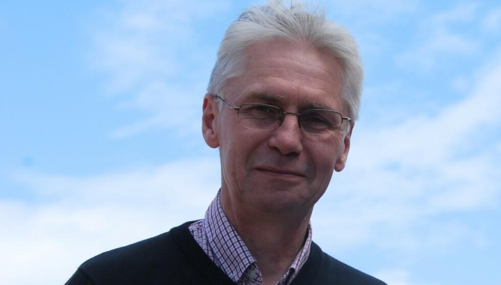 ORDFØRER: Erik Sletten ønsker hyttefolket velkommen. Foto: Privat