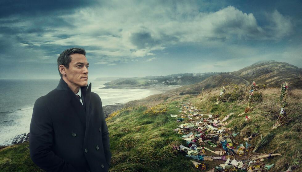 """Luke Evans som Steve Wilkins i """"Mordene i Pembrokeshire"""""""