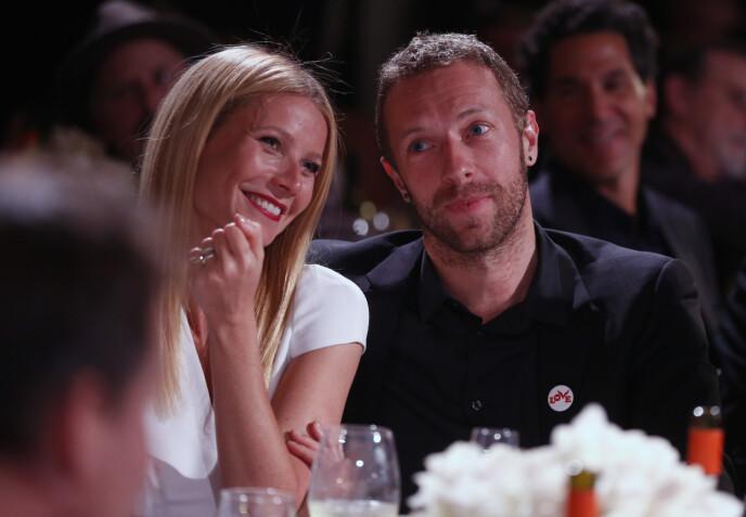 SKILT: Gwyneth Paltrow og Chris Martin skilte lag i 2014. Foto: Colin Young-wolff / AP / NTB