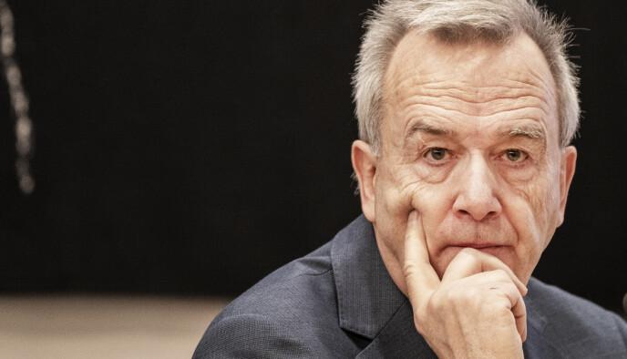 AVVENTER: Tidligere riksadvokat Tor-Aksel Busch ønsker ikke å gå i en polemikk med advokat Sjødin. Foto: Hans Arne Vedlog / Dagbladet