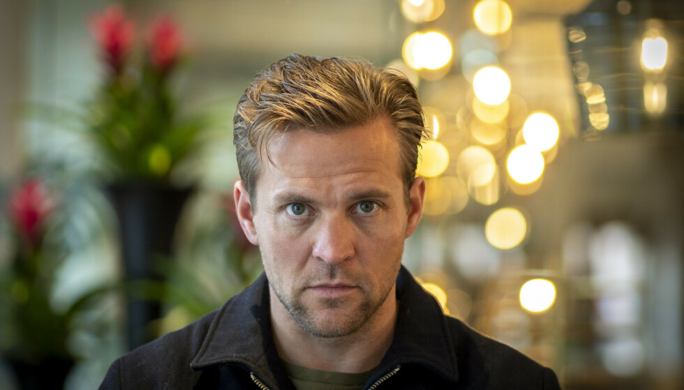 TRIPPELAKTUELL: Skuespiller Tobias Santelmann er å se i «Den som dreper», «Velkommen til Utmark» og «Exit». Foto: NTB