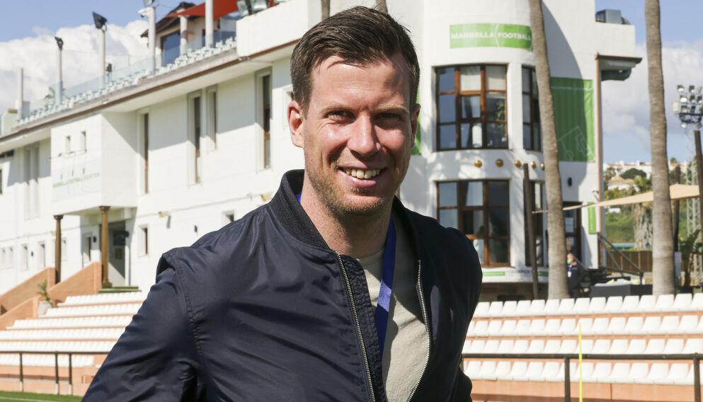 PÅ PLASS I SPANIA: TV 2-ekspert Jesper Mathisen. Foto: Geir Olsen / NTB