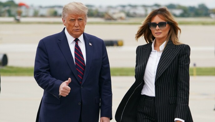 Then Online: Donald and Melania Trump