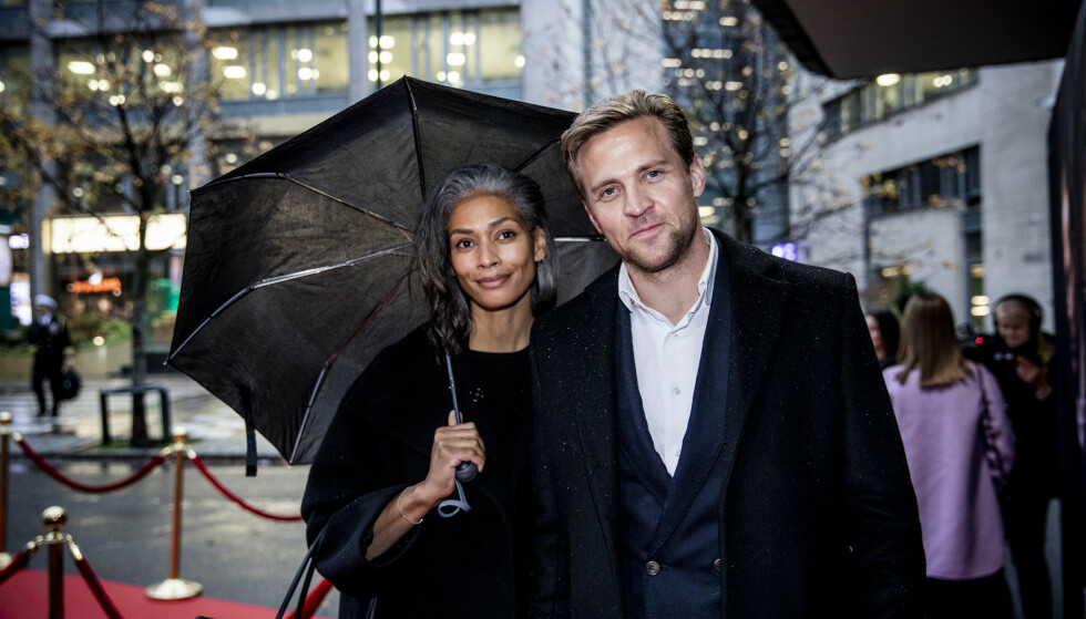 PAPPA: Tobias Santelmann er selv pappa, og har en datter på fem år sammen med PR-rådgiver Jennifer Bråthen. Foto: Christian Roth/Dagbladet