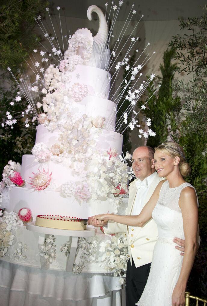 OPERAEN: Bryllupet gikk over tre dager, og inneholdt blant annet en middag i operaen. Prislappen lå på elleville 607 millioner kroner. Foto: Eric Mathon / AFP Photo / Palais Princier / NTB