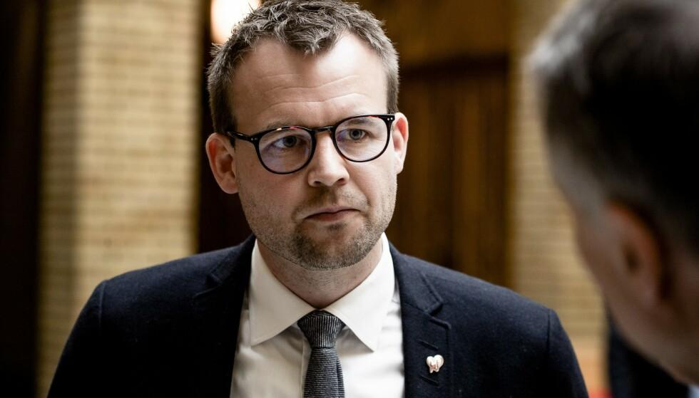 GJØR ENDRINGER: KrF-leder Kjell Ingolf Ropstad vil forlenge tiden enkelte kan motta arbeidsavklaringspenger. Foto: Lars Eivind Bones / Dagbladet