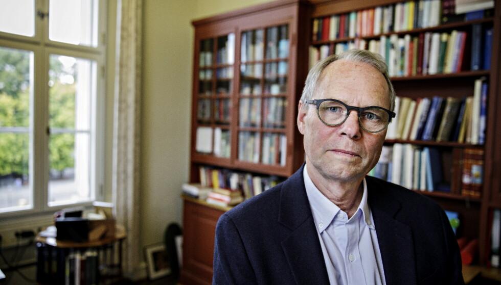 VANSKELIG: Jusprofessor Hans Petter Graver, mener det er vanskelig å forutsi hva utfallet av saken vil bli. Foto: Nina Hansen / Dagbladet