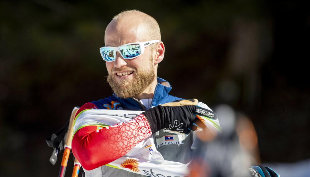 LANGLØP: Martin Johnsrud Sundby etter ei treningsøkt i VM-løypene i Oberstdorf.Nå satser han på langløp. Foto: Bjørn Langsem / Dagbladet