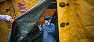 Stockholm: Antallet alvorlige syke øker kraftig