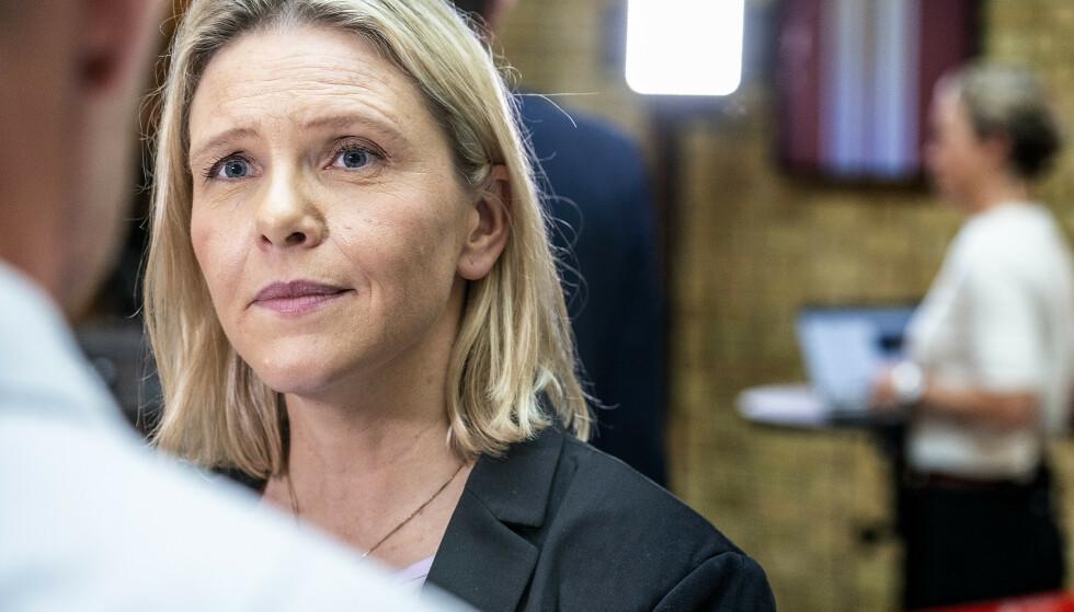 LANGER UT: Sylvi Listhaug sier MDG ønsker deler av pandemiens ødeleggelser velkommen. Foto: Hans Arne Vedlog / Dagbladet