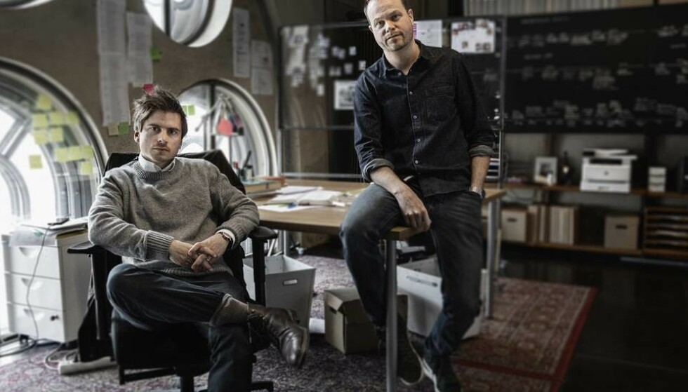 Creators: Martin Johnson (left) and Anton Berg are behind the documentary about friendship.  Photo: HBO