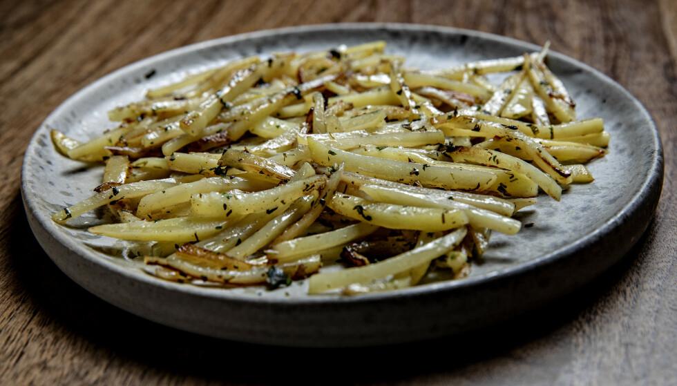 MYKT OG FRISKT: Disse potetene er så gode at du må beregne mye mer poteter enn til en vanlig middag.