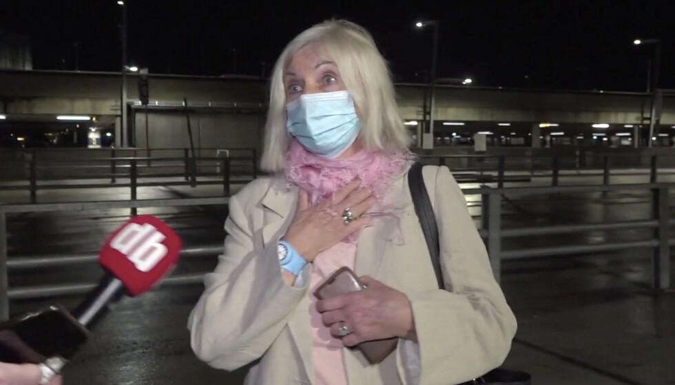 NEKTET KARANTENEHOTELL: Marianne Øyen mener det er mer forsvarlig å gjennomføre karantenen hjemme, framfor på karantenehotellet. Foto: Henning Lillegård / Dagbladet TV