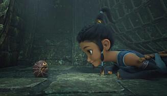 VIST SAMTIDIG: Disney-filmen «Raya and the Last Dragon» ble sluppet på kino og Disney+ samtidig. I det lange løp kan det få store konsekvenser for kinoene. Foto: NTB/Disney+ via AP)