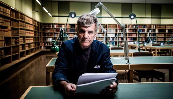 - NRK VIDEREFORMIDLER MYTER: Det mener historiker Lars Borgersrud. Foto: Thomas Rasmus Skaug / Dagbladet