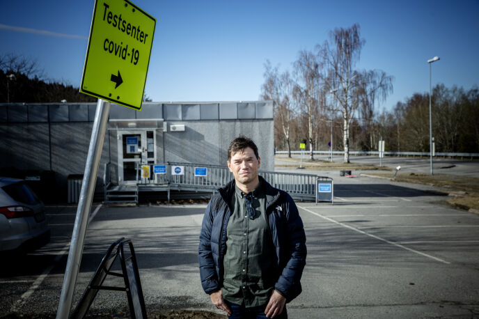BEKYMRET: Ordfører Ståle Grøtte (Ap) forteller at han er bekymret for hvordan situasjonen kan se ut etter påske. Foto: Nina Hansen / Dagbladet