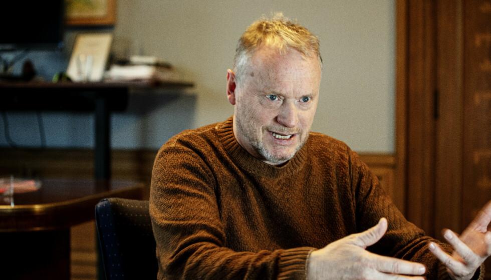 KLAR OPPFORDRING: Byrådsleder Raymond Johansen ber Oslos muslimer om å følge regelverket gjennom høytiden. Foto: Nina Hansen / Dagbladet
