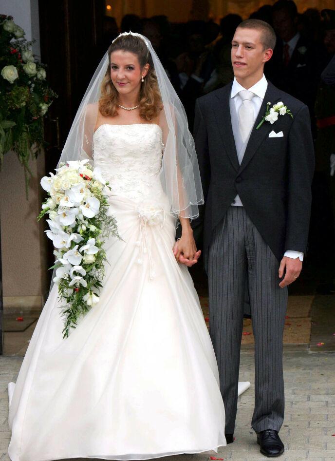 DEN GANG DA: Tessy og Louis giftet seg i 2006 og fikk to sønner sammen. Foto: Frank Rollitz/REX/NTB