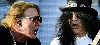 Guns N' Roses kommer til Stavanger