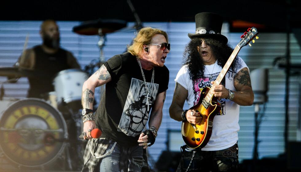 KOMMER TIL NORGE: Guns N' Roses kommer til Norge i juni 2022.Foto: John T.Pedersen / Dagbladet