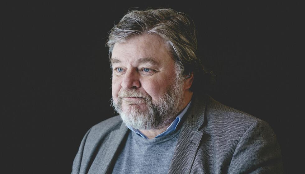 Oslo 20210313.  Steinar Madsen, medisinsk fagdirektør i legemiddelverket, etter pressekonferanse om bivirkninger av AstraZeneca-vaksinen. Foto: Stian Lysberg Solum / NTB