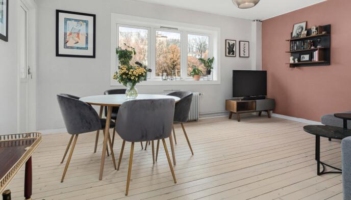 SELGER: Marte Bratberg har bestemt seg for å selge leiligheten, og flytter til en større leilighet i samme område med kjæresten. Foto: Fotograf Anthony Hopkins