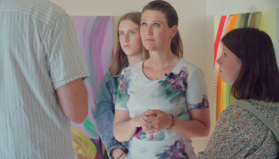 DOKUSERIE: Märtha Louise og døtrene Leah Isadora og Maud Angelica i dokumentarserien «Märtha». Foto: TV 2